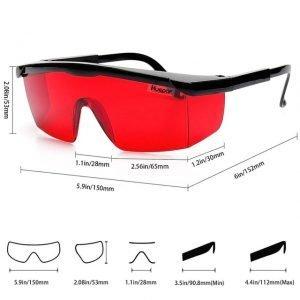 Kék Fény Blokkoló szemüveg Piros – Biohacker