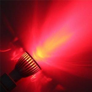 Vörös éjszakai alvást elősegítő LED izzó E12 / E14 / E27 / B22 / GU10 / GU5.3