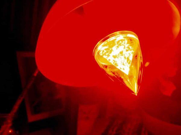 Éjszakai vörös lámpa