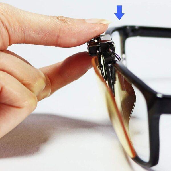 Kék Fény Blokkoló Gyógyszemüveg rátét (Clip-on)