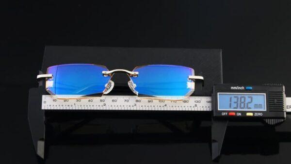 Kékfény szűrős olvasószemüveg