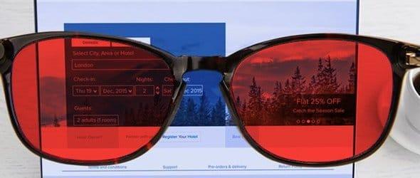 kék fény szűrő éjszakai szemüveg