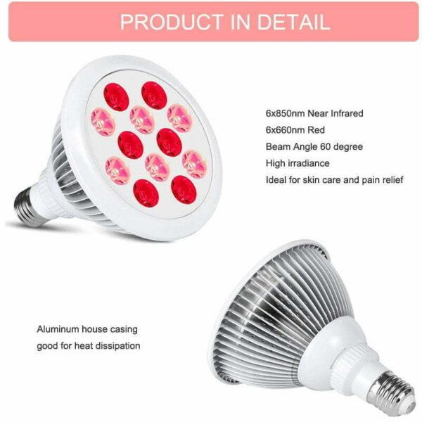 infravörös fényterápia lámpa